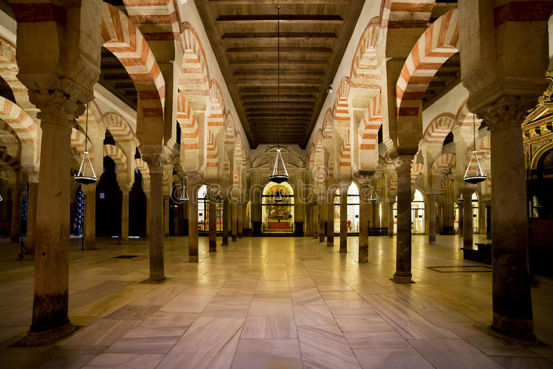 Download Mezquita Interior In Cordoba Stock Image - Image: 26623483