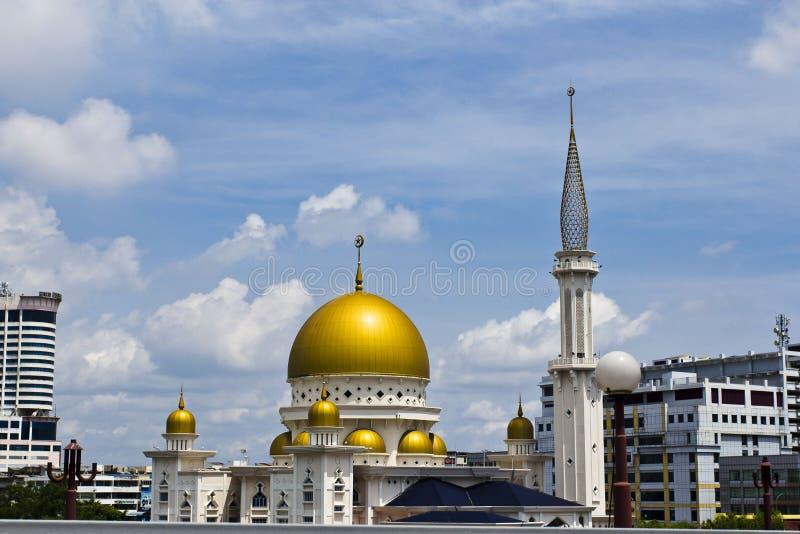 Mezquita islámica, Klang, Malasia foto de archivo