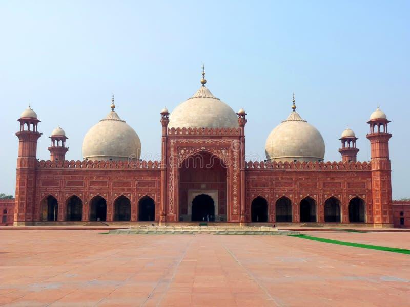 Mezquita Lahore de Badshahi imagen de archivo libre de regalías