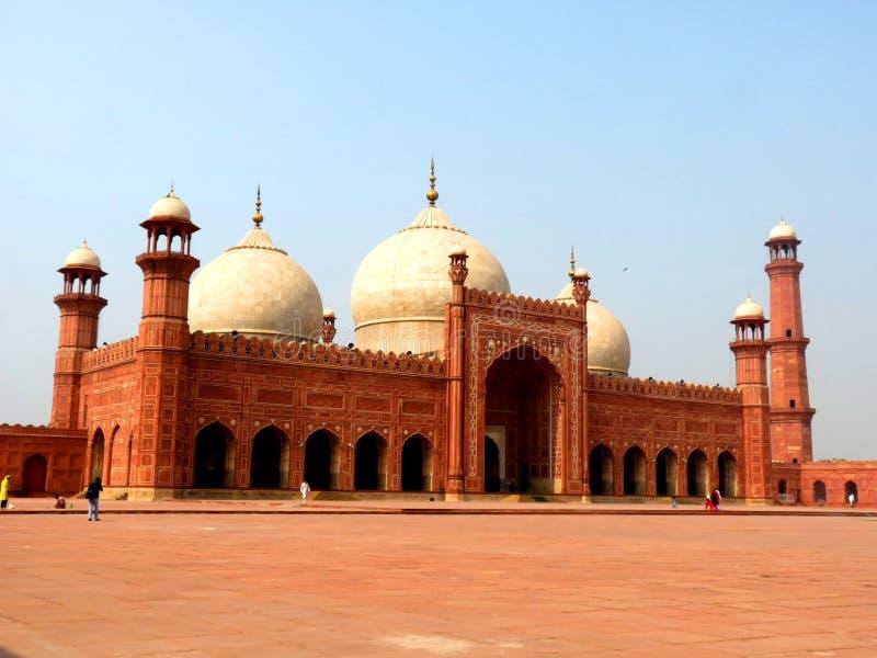 Mezquita Lahore de Badshahi fotografía de archivo libre de regalías