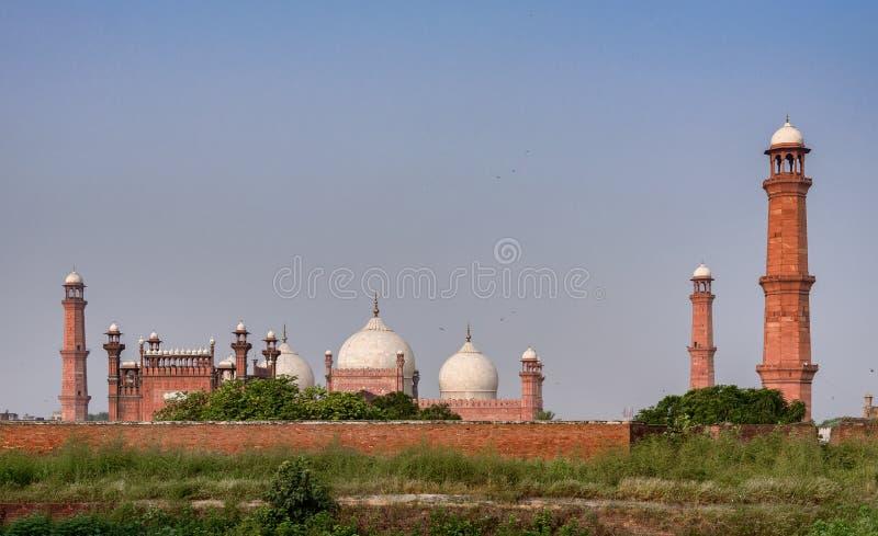 Mezquita Lahore Punjab Paquistán de Badshahi fotografía de archivo