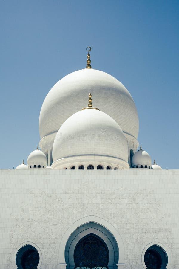 Mezquita magnífica foto de archivo