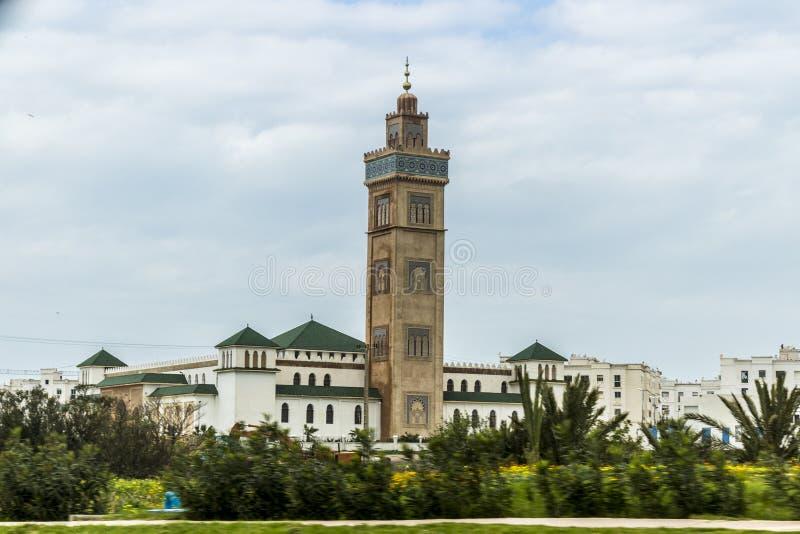 Mezquita Marruecos de Tánger imágenes de archivo libres de regalías