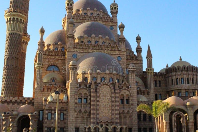 Mezquita musulmán en la ciudad vieja fotos de archivo libres de regalías