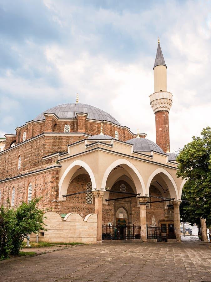 Mezquita otomana Banya Bashi en Sofía, Bulgaria foto de archivo libre de regalías