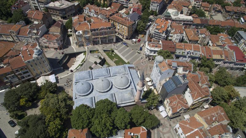 Mezquita Plovdiv, Bulgaria de Dzhumaya, el 23 de octubre de 2018 imagen de archivo libre de regalías