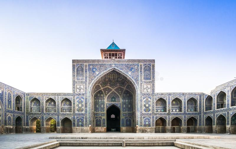 Mezquita tradicional de Jameh de Isfahán - Irán fotos de archivo libres de regalías