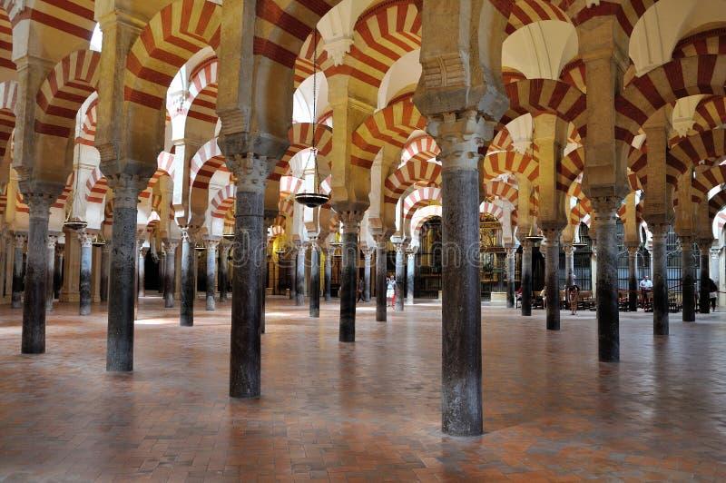 Mezquita van Cordoba stock fotografie