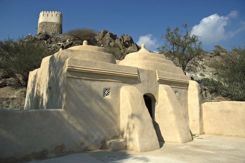 Mezquita vieja histórica fotografía de archivo libre de regalías