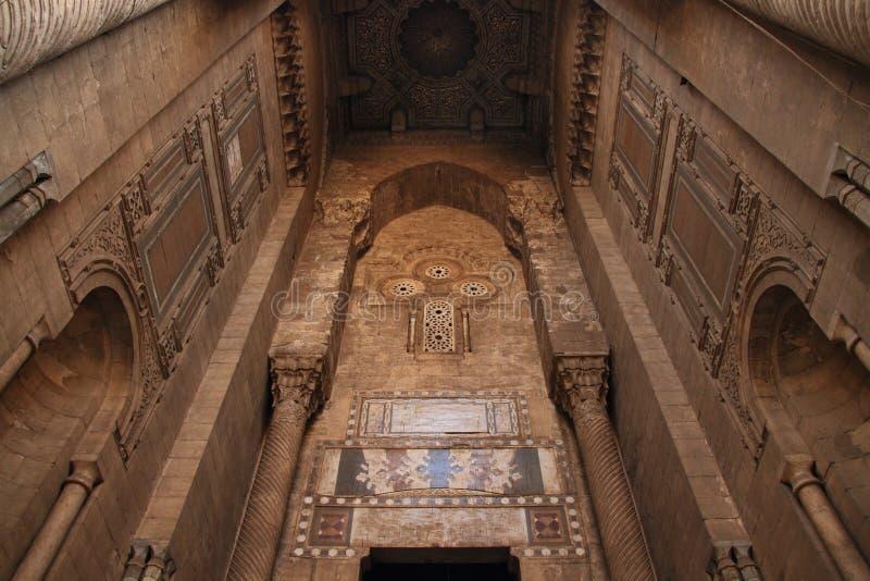 Mezquitas en Egipto imagen de archivo libre de regalías