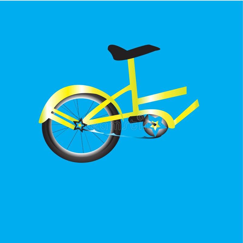 Mezza bici illustrazione di stock