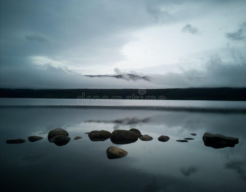 Mezzaluna delle rocce fotografie stock