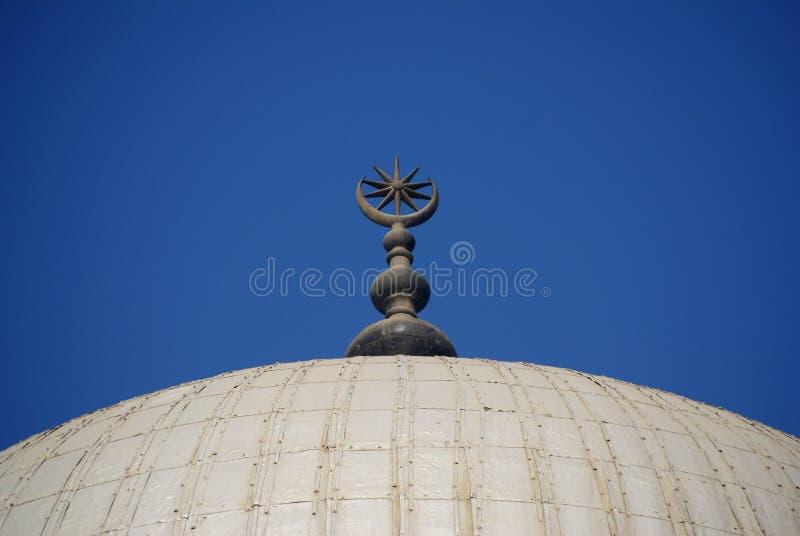 Mezzaluna di Islam immagini stock