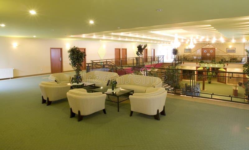 Mezzanine hal royalty-vrije stock afbeelding