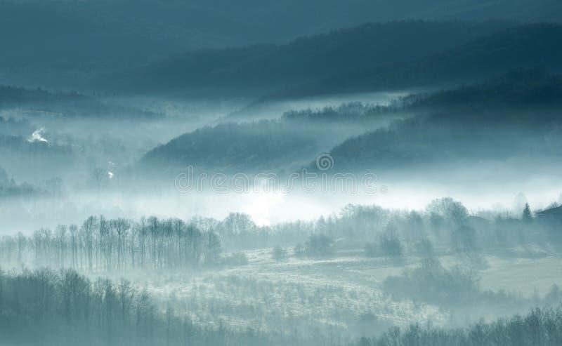 mgła zdjęcia stock