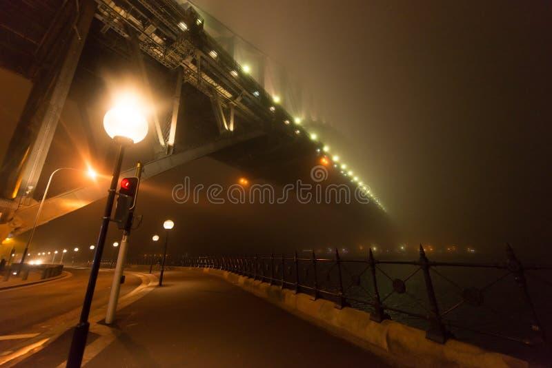 Mgła Całuny   Sydney Schronienia B Zdjęcie Editorial