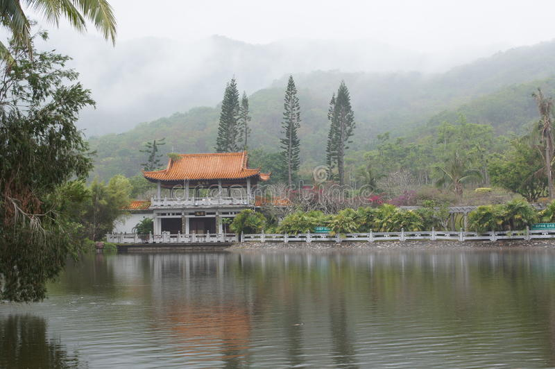 Mgła Chiny obrazy royalty free