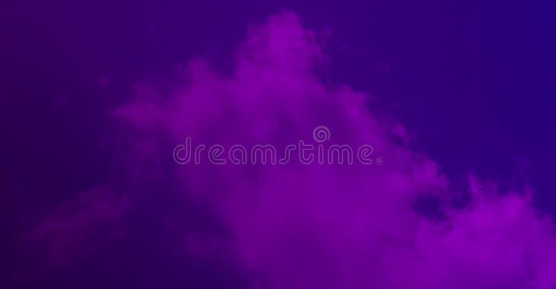 Mgła mgła dymna fioletowe tło royalty ilustracja