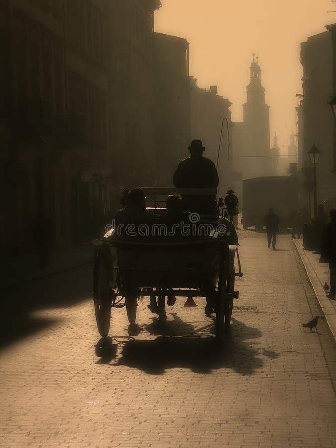 mgła kierowcy fotografia stock