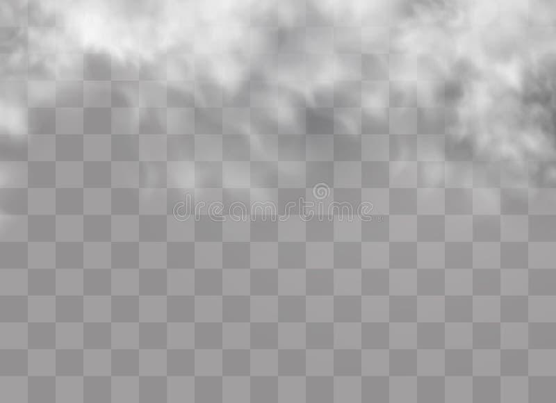 Mgła lub dym ilustracji