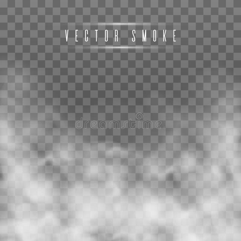 Mgła lub dym ilustracja wektor