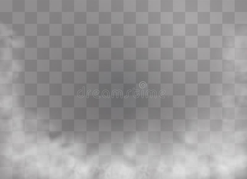Mgła lub dym royalty ilustracja
