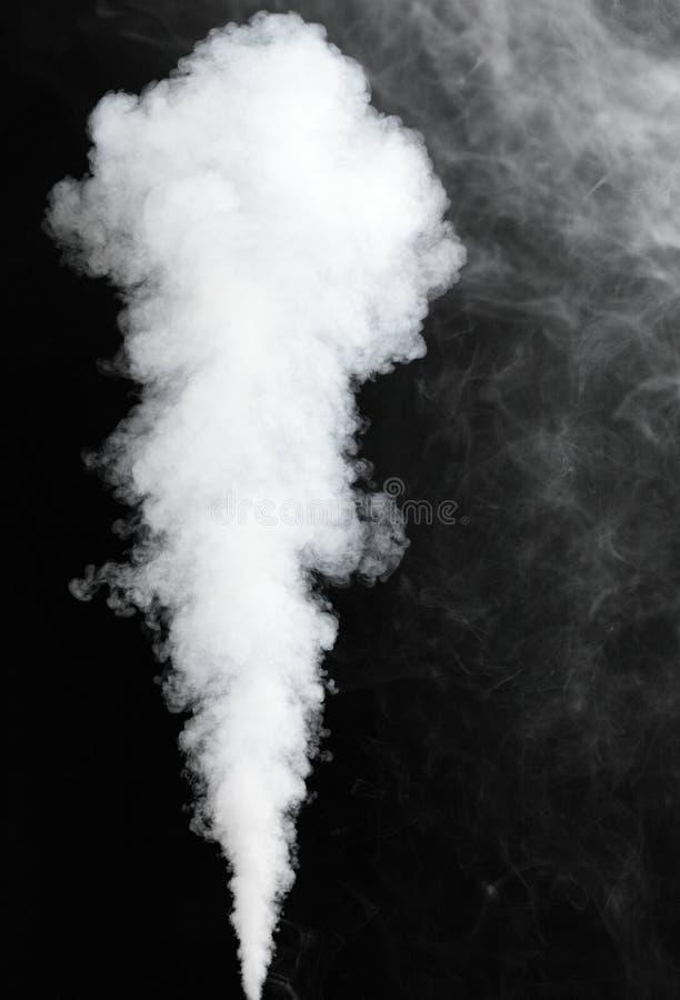 mgła odizolowywający strumień gęsty fotografia stock
