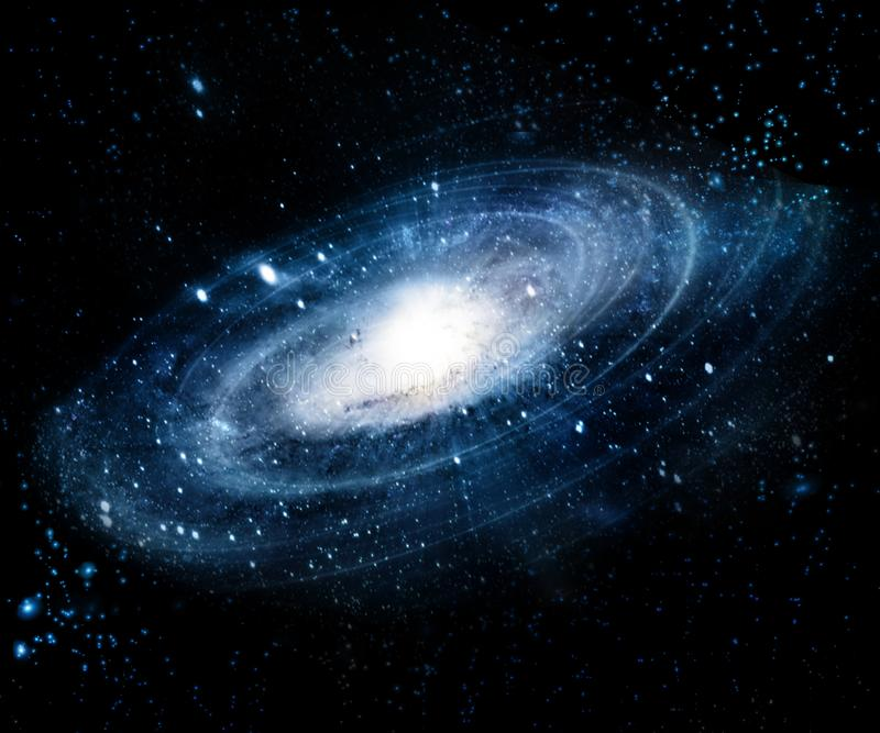 Mgławica i galaxies w przestrzeni Elementy ten wizerunek meblujący NASA fotografia royalty free