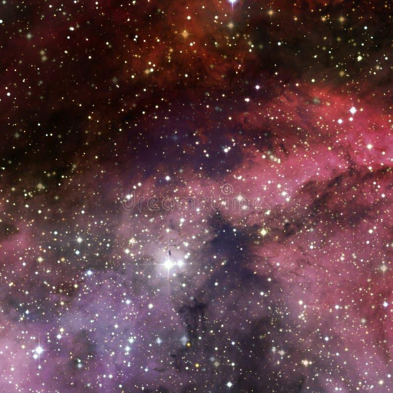 Mgławica międzygwiazdowa chmura gwiazda pył ilustracji