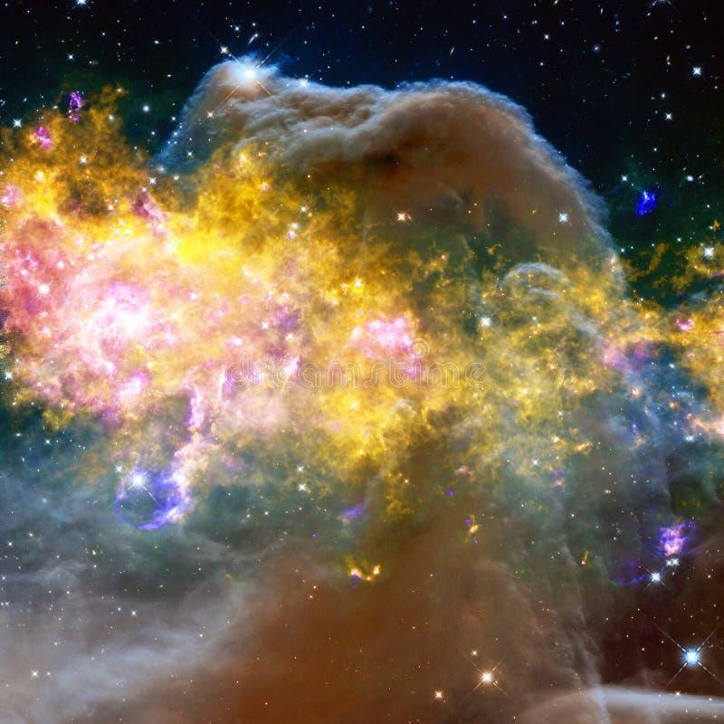 Mgławica międzygwiazdowa chmura gwiazda pył fotografia royalty free
