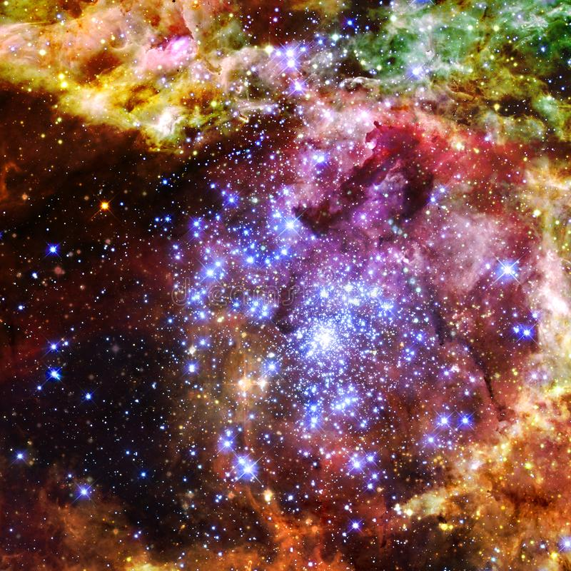 Mgławica międzygwiazdowa chmura gwiazda pył obrazy stock