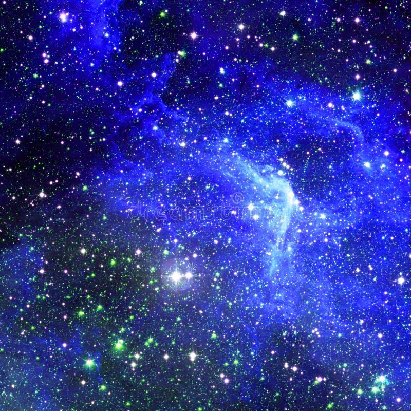 Mgławica międzygwiazdowa chmura gwiazda pył obraz royalty free
