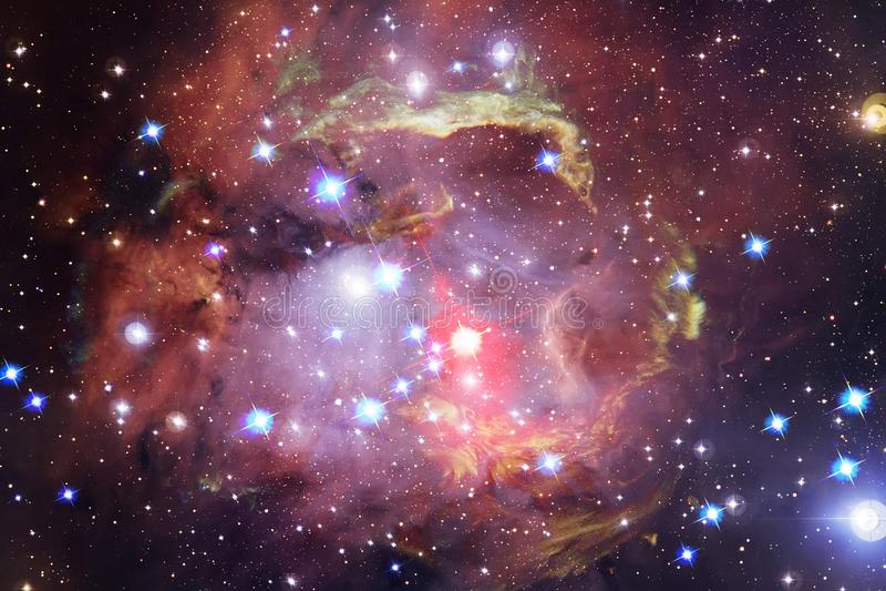 Mgławica międzygwiazdowa chmura gwiazdowego pyłu kosmosu wizerunek zdjęcia royalty free