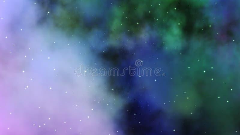 Mgławicy chmura - przestrzeń fotografia stock