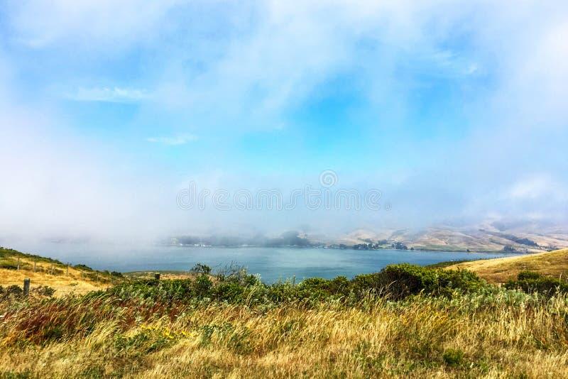 Mgłowy Kalifornia dzień obraz stock