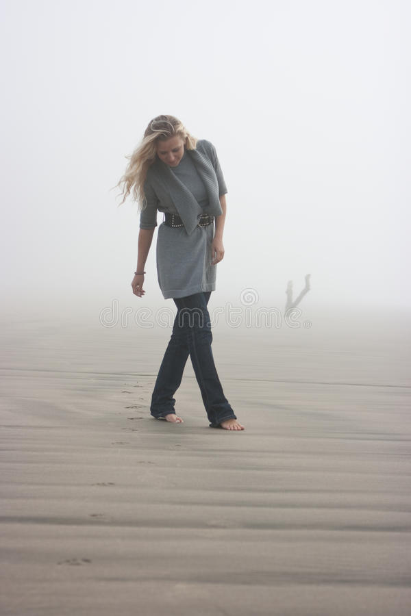 mgły odprowadzenie obrazy stock