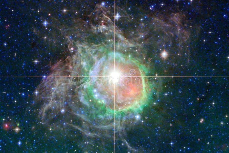 Mg?awica mi?dzygwiazdowa chmura gwiazdowego py?u kosmosu wizerunek zdjęcia royalty free