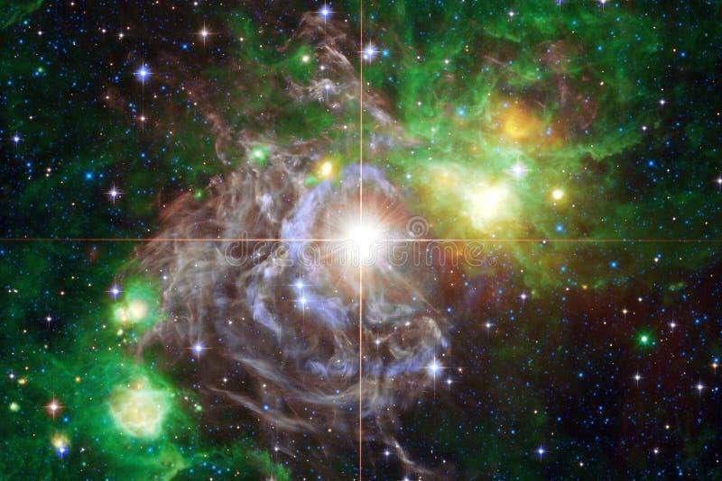Mg?awica mi?dzygwiazdowa chmura gwiazdowego py?u kosmosu wizerunek zdjęcie stock