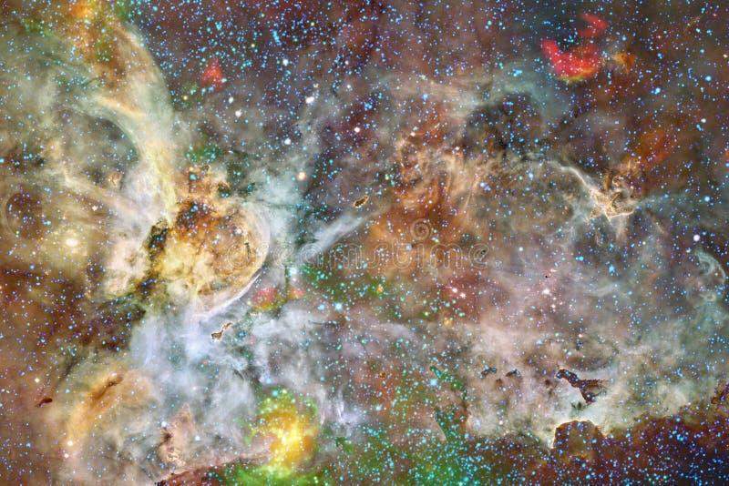 Mg?awica mi?dzygwiazdowa chmura gwiazdowego py?u kosmosu wizerunek obrazy stock