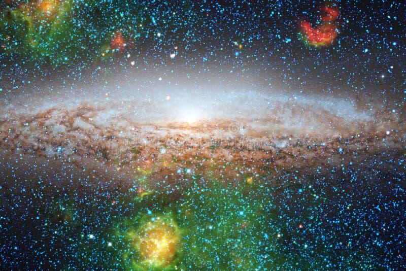 Mg?awica mi?dzygwiazdowa chmura gwiazdowego py?u kosmosu wizerunek obraz stock