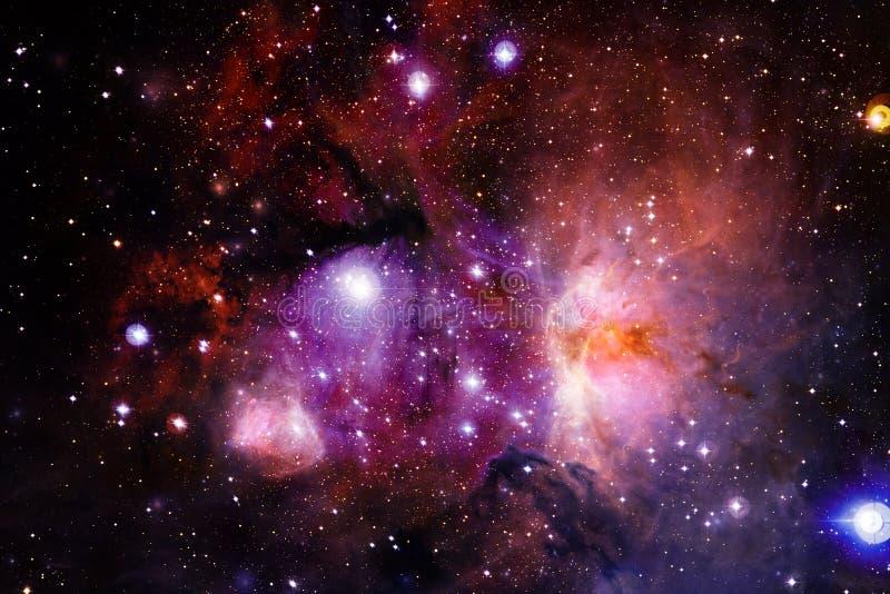 Mg?awica mi?dzygwiazdowa chmura gwiazdowego py?u kosmosu wizerunek zdjęcia stock