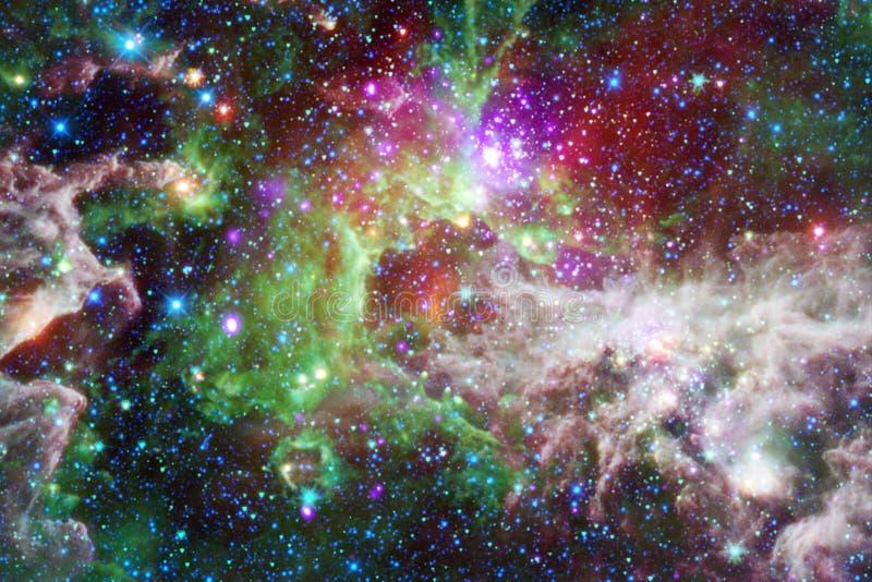 Mg?awica mi?dzygwiazdowa chmura gwiazdowego py?u kosmosu wizerunek fotografia royalty free