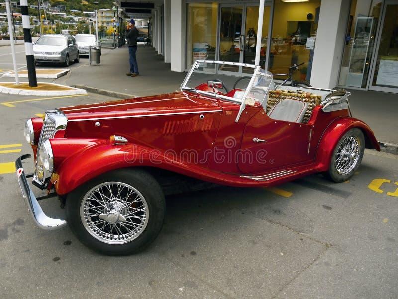 MG, carros do vintage, carros de esportes foto de stock