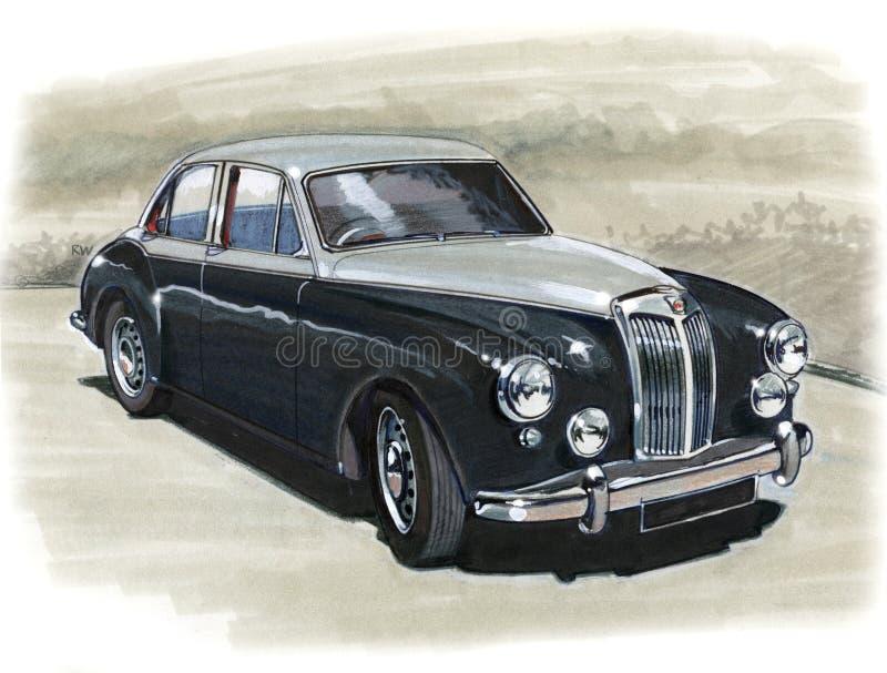 MG Magnette ilustração royalty free