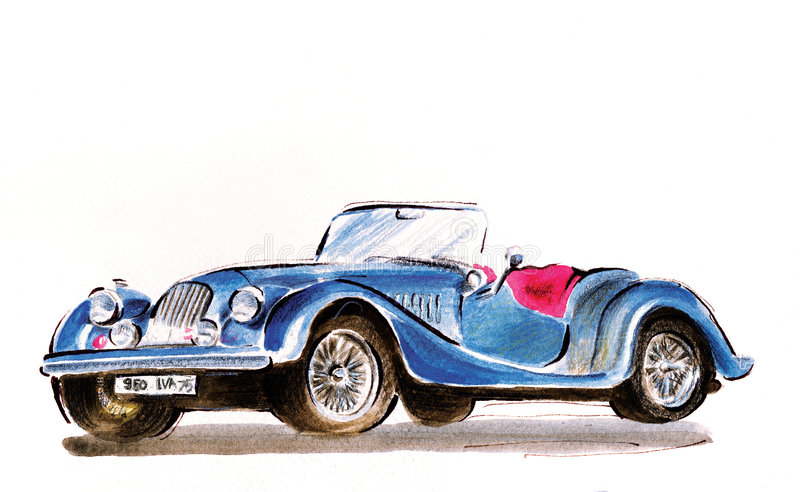 mg-morris stock illustrationer