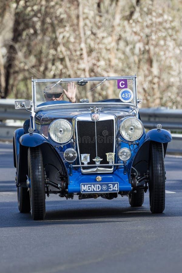 1934 MG ND terenówka zdjęcie royalty free