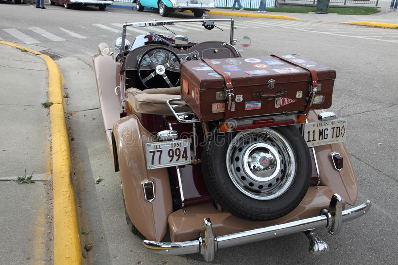 Download MG retro car editorial stock photo. Image of america - 17854148