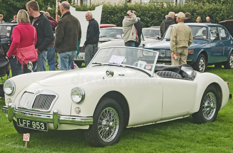 Download MG Sports Car At Fortrose.. Editorial Image - Image: 15861270