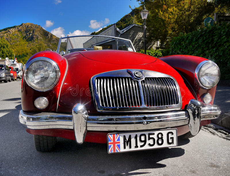 MG, Vintage Cars, Sports Cars Editorial Image - Image of automobiles ...