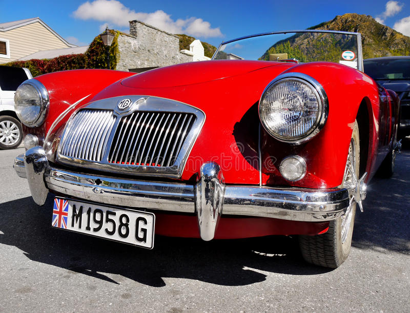 MG, Vintage Cars, Sports Cars Editorial Stock Image - Image of ...